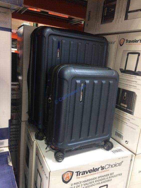 Traveler's Choice The Art of Travel 2 Piece HardSide Set
