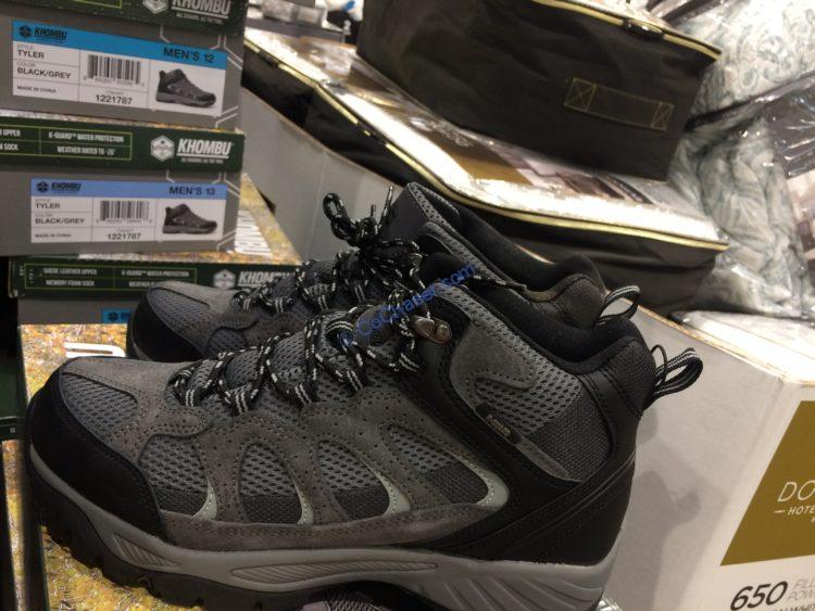 Khombu Men's Leather Boot, Black