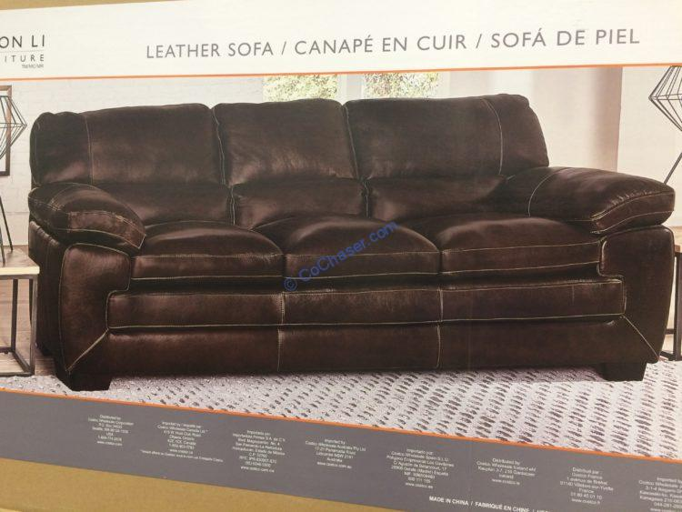 Simon Li Leather Sofa & Loveseat – CostcoChaser