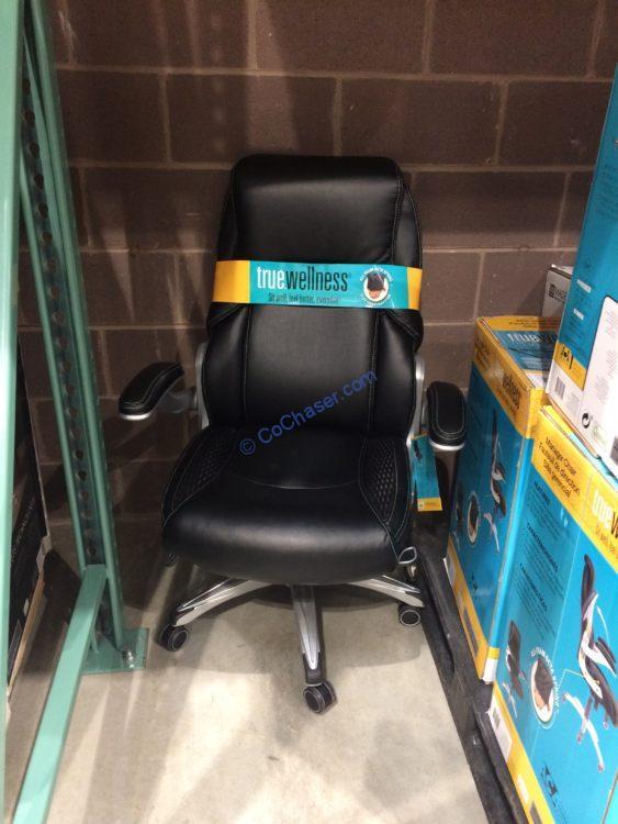 Astonishing True Wellness Manager Chair Costcochaser Machost Co Dining Chair Design Ideas Machostcouk