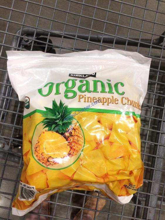 Kirkland Signature Organic Pineapple 4 Pound Bag
