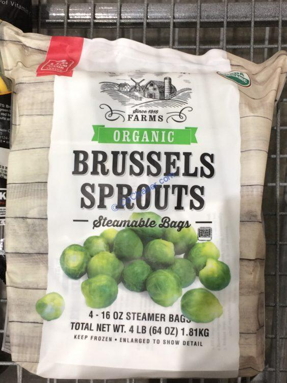 Maas River Farms Organic Brussel Sprouts 4 1 Pound Bag