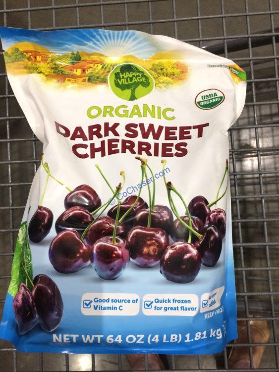 Happy Village Organic Cherries 4 Pound Bag