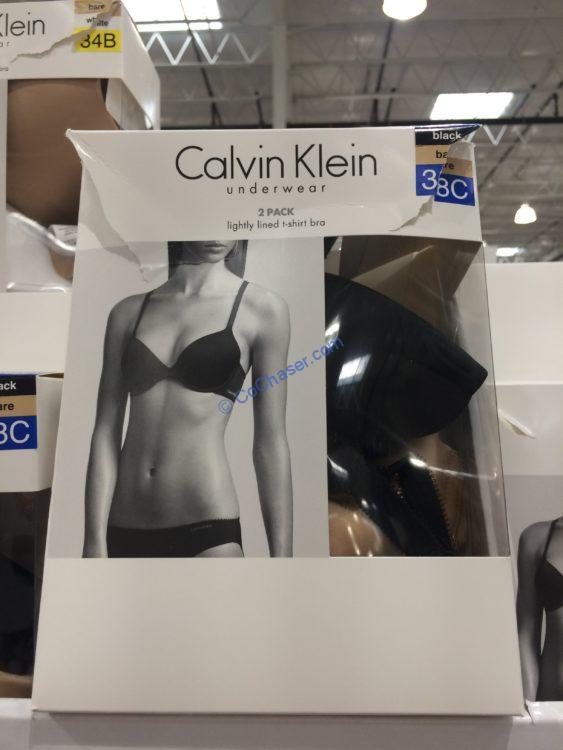 285bd4d1701 Calvin Klein Ladies  T-Shirt Bra 2-pack – CostcoChaser