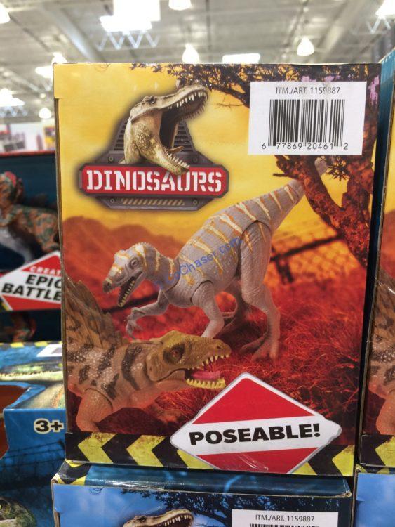Poseable Dinosaur 6 Pack Set