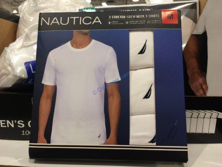Nautica Men's Stretch Crew Tee 3-pack