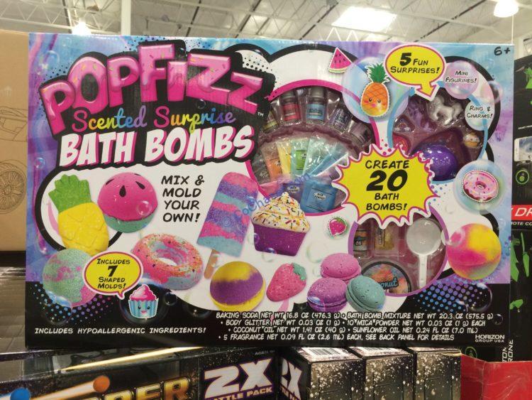 Popfizz Scented Surprise Bath Bombs