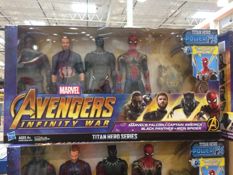 Marvel Avengers Infinity War Titan Hero Series