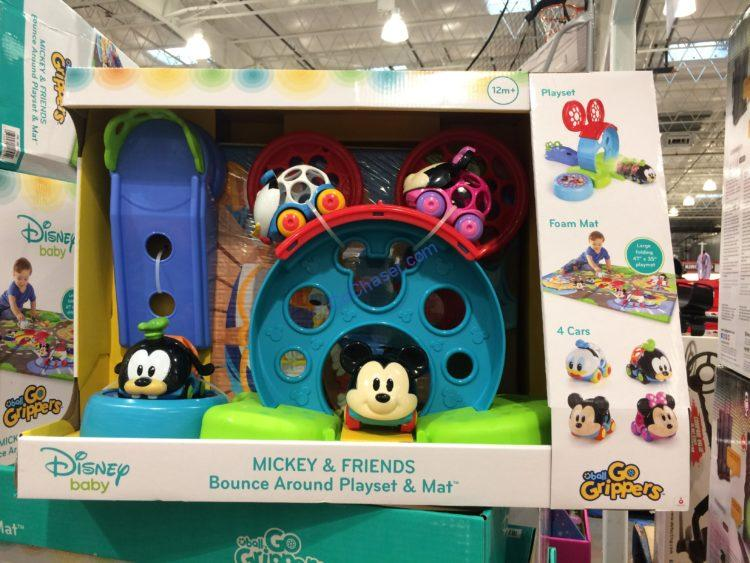 Disney Baby Mickey Friends Go Grippers Play Set Mat Costcochaser