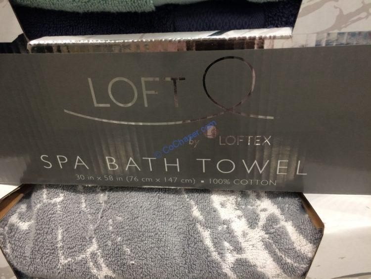 Costco-1212111-Loft-SPA-Bath-Towel-face