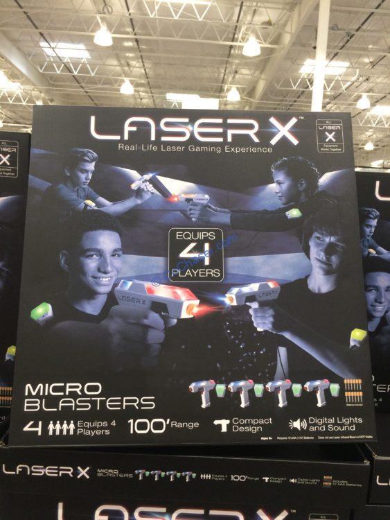 LASER X Micro Blasters 4-pack
