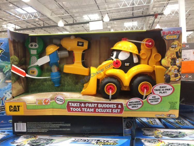 Car Take-A –Part Buddies & Tool Team Deluxe Set