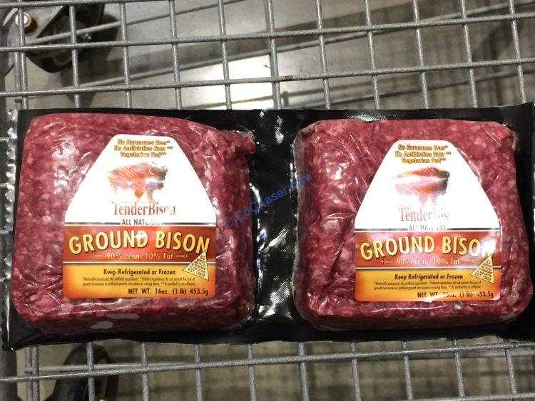 North American Bison ABF Ground Bison 2/1 Pound Packages