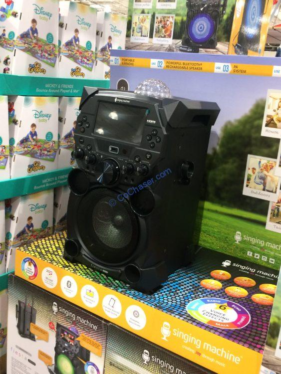 Singing Machine Sdl 9040 Portable Karaoke System Costcochaser