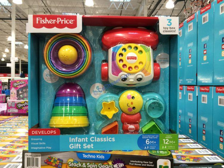Fisher Price Classic Infant 3 Peace Gift Set