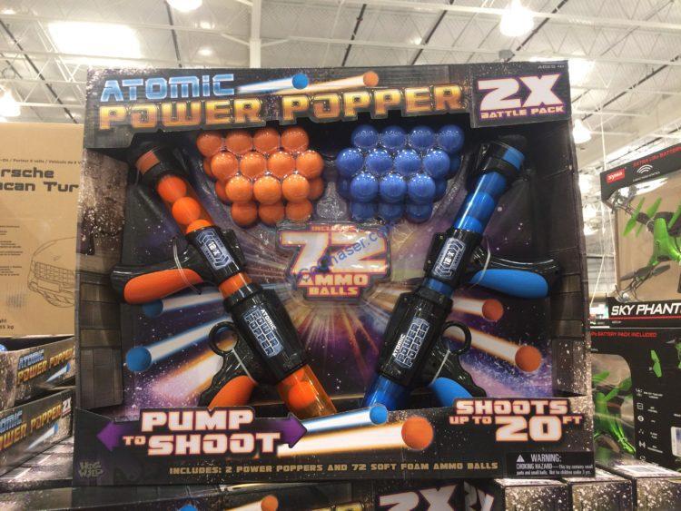 Atomic Power Popper Battle Pack Set