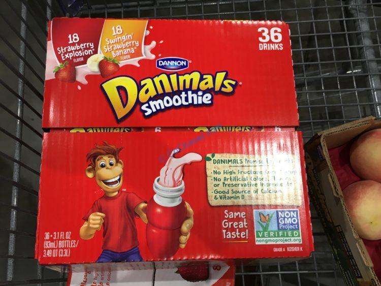Dannon Danimals Smoothie, 3.1 fl oz