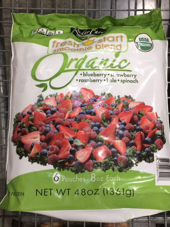 Rader Farms Organic Fresh Start Smoothie 6 /8 Ounce Bags