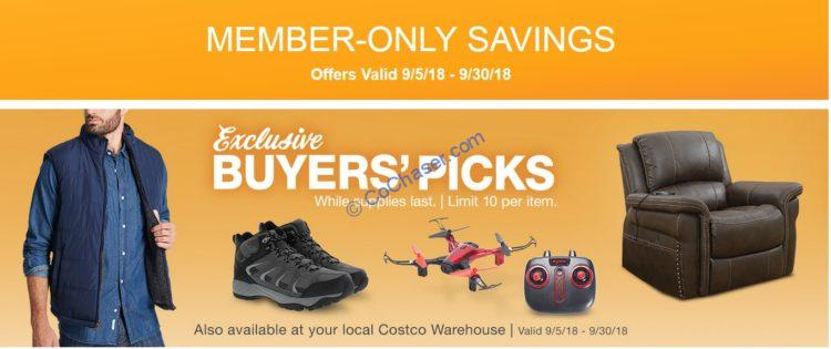 Costco Coupon Book: Sep. 05 – Sep. 30, 2018