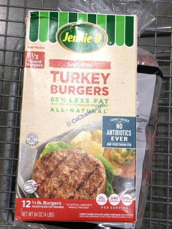 Jennie-O NAE Turkey Burger 4 Pound Box