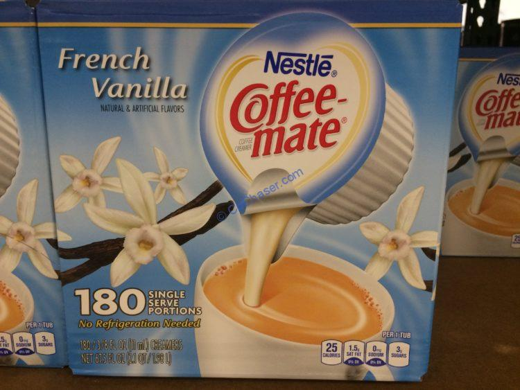 Nestlé Coffee-mate French Vanilla Creamer 180 Count Box