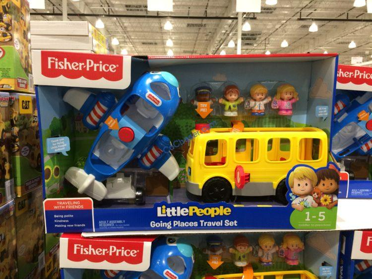 Fisher Price Little People Going Places Travel Set