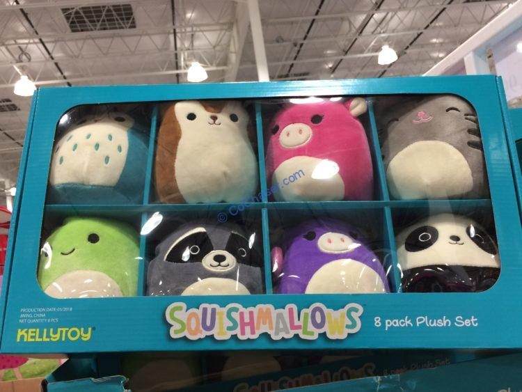 Costco-1211135-Squishmallows-MINS-8-pack-Plush-Set