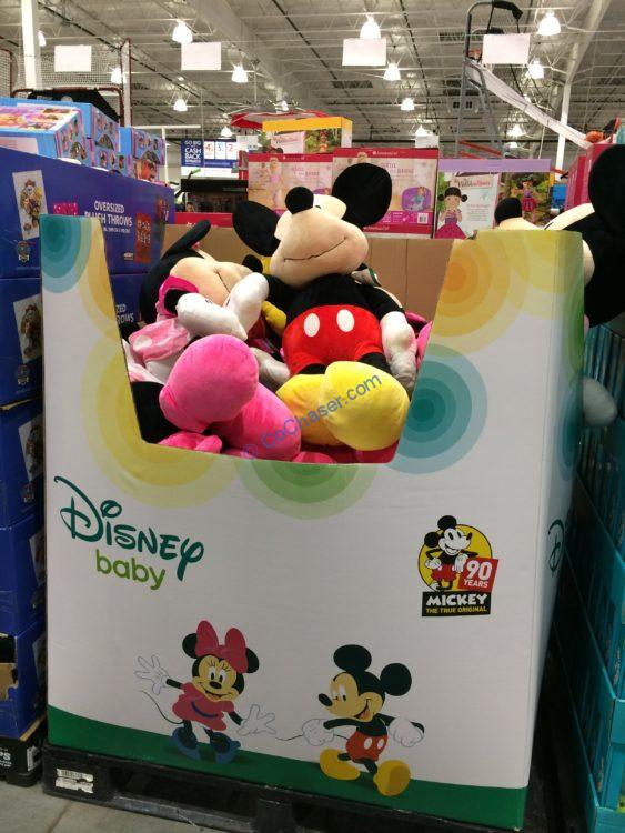 "Disney Minnie or Mickey 36"" Jumbo Plush"