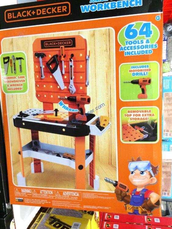 Superb Costco 1220312 Black Decker Junior Builder Workbench Part1 Ibusinesslaw Wood Chair Design Ideas Ibusinesslaworg