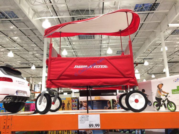 Terrain Ez Fold Wagon With Canopy