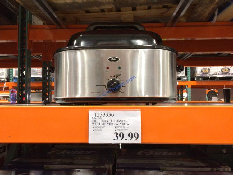 Oster 20QT Turkey Roaster with Viewing Window