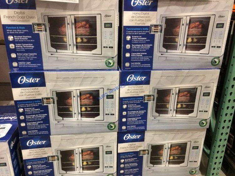 Costco 1234400 Oster Digital French Door Countertop Oven All Costcochaser