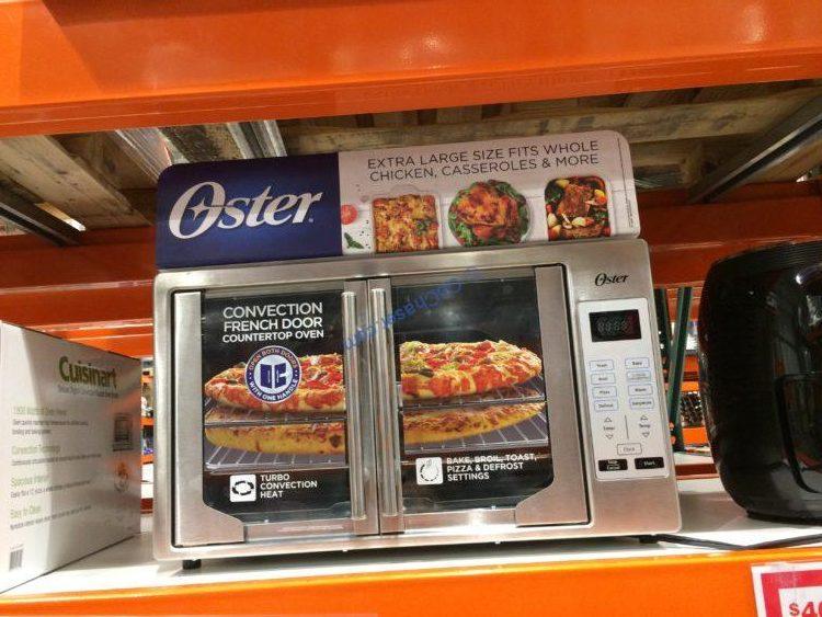 Oster Digital French Door Countertop Oven Tssttvfddg Costcochaser