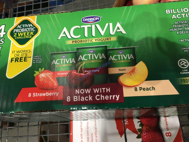 Dannon Activia Variety Pack 24/4 Ounce Cups
