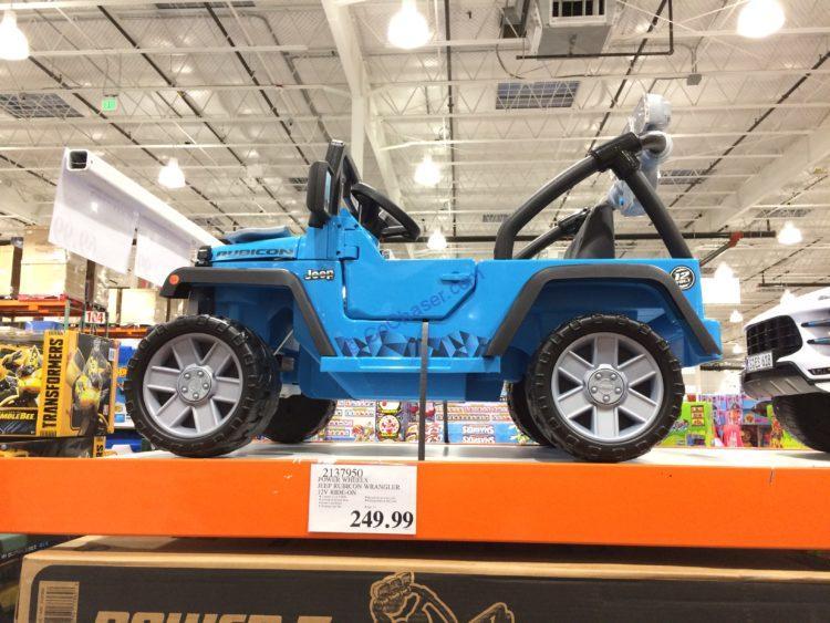 Power Wheels Jeep Rubicon Wrangler 12V Ride-On, Model# GCT05-9993