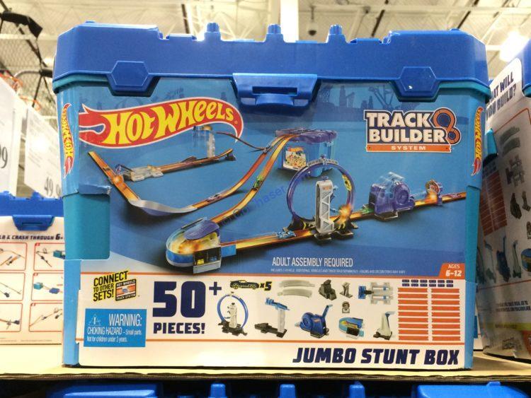 Hot Wheels Jumbo Stunt Box