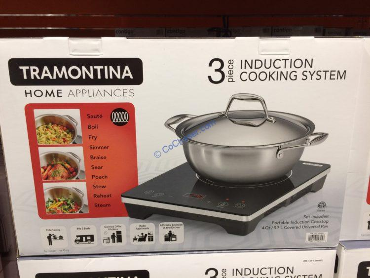 Tramontina 3 Piece Induction Cooking Set