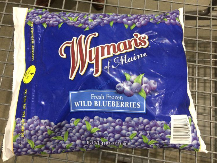 Wyman's Wild Blueberries 4 Pound Bag