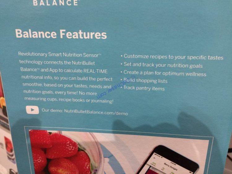 Costco-4900096-Nutribullet-Balance-Bluetooth-Smart-Blender-spec