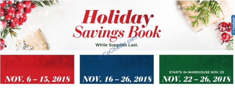 Costco Holiday Savings: November 22 – 26, 2018