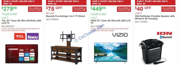 Costco Holiday Savings November 22 26 2018 Costcochaser
