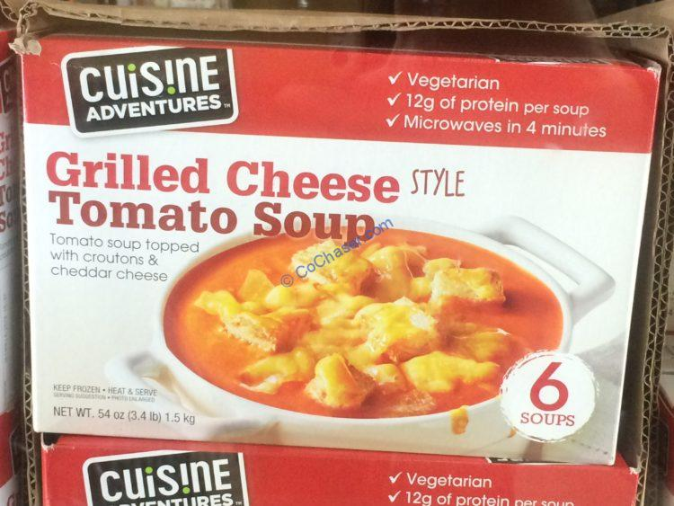 Cuisine Adventures Tomato & Cheese Soup 6/9-Ounce Services