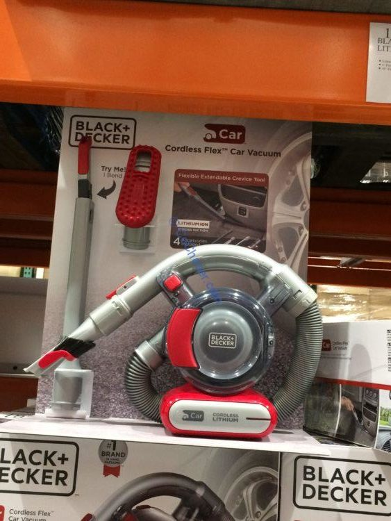 BLACK + DECKER Lithium-Ion Flex Cordless Automotive Vacuum, Model# HFVAB320JC26