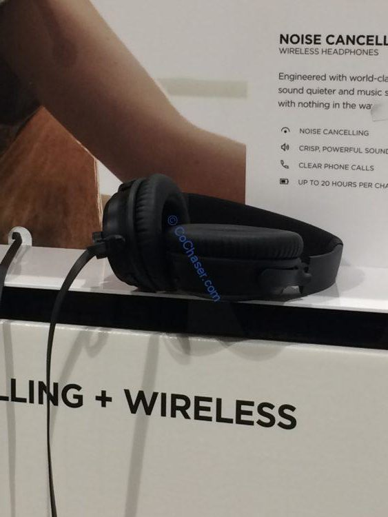 Bose Noise Cancelling Wireless Headphones with Carry Case