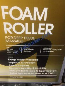 Costco-1249539-LOLE-Foam-Roller-name