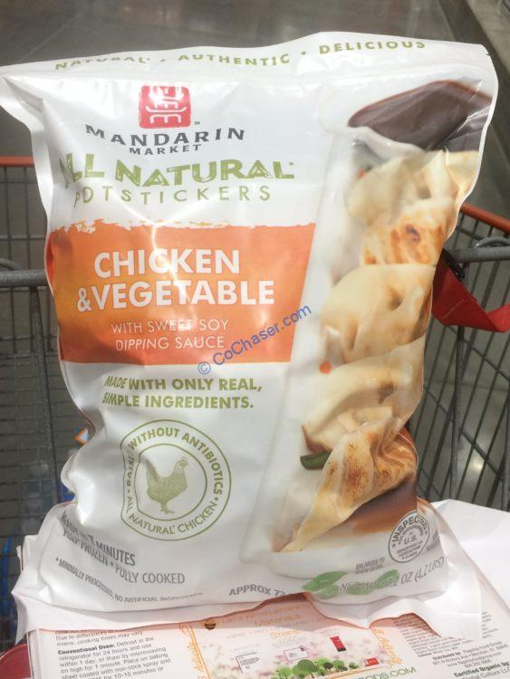 Mandarin Market Chicken Potstickers 4.2 Pound Bag