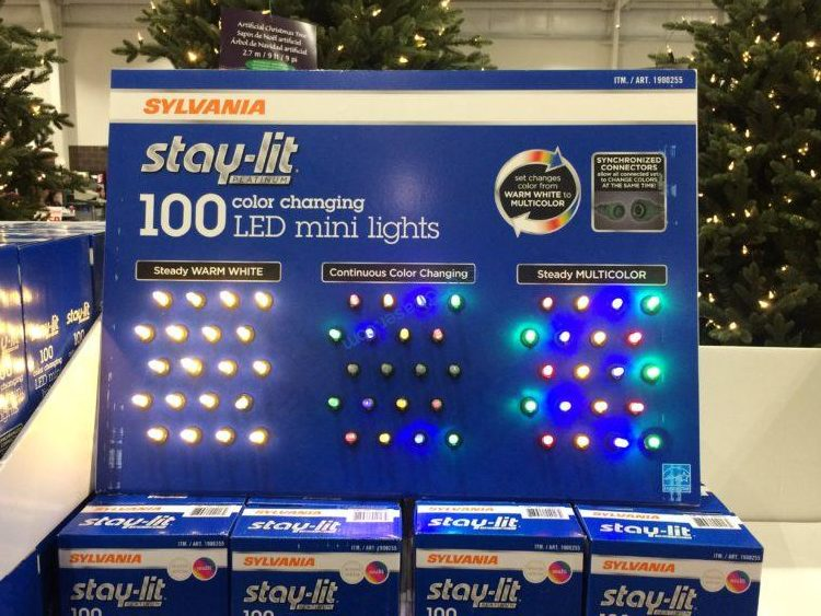 Sylvania 100CT LED Mini Lights Color Changing