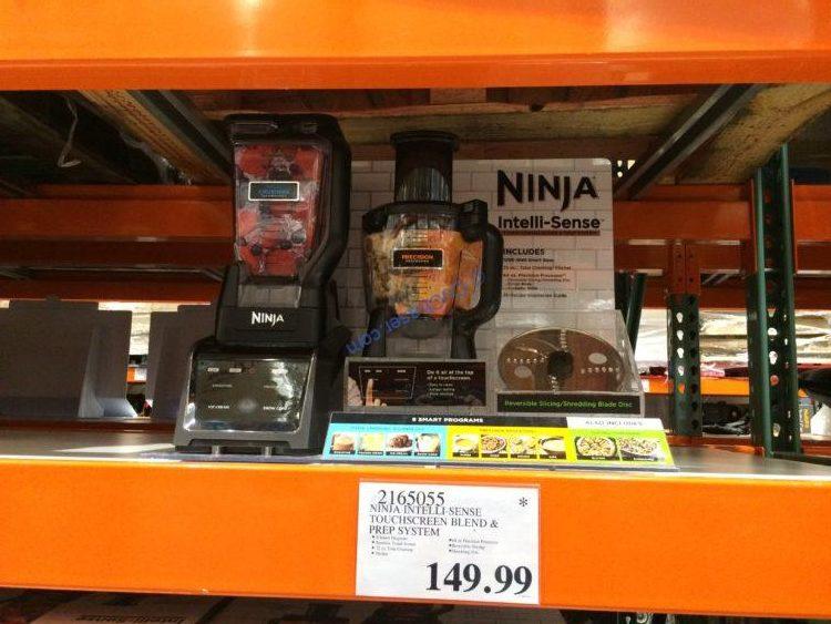 Ninja Intelli-Sense Touchscreen Blend & Prep System