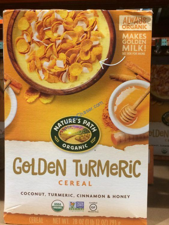 Nature's Path Organic Turmeric Cereal 28 Ounce Box