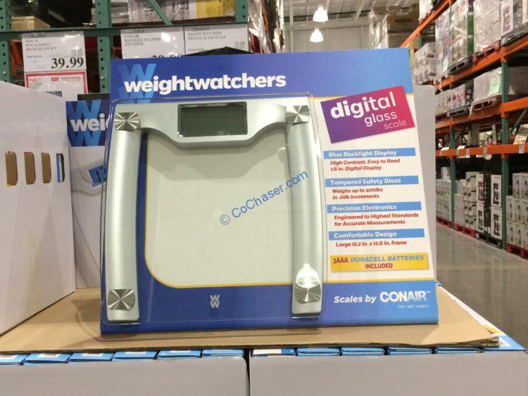 Weight Watchers Digital Glass Scale